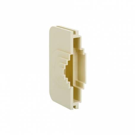 Pasacables reversible para tubo y para canaleta marfil Simon 27 Centralizaciones