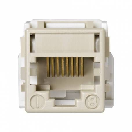 Conector informático RJ45 Systimax® de categoría 5e UTP marfil