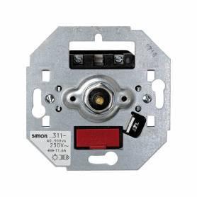 Regulador-interruptor de luz giratorio de 40 a 300 W/VA