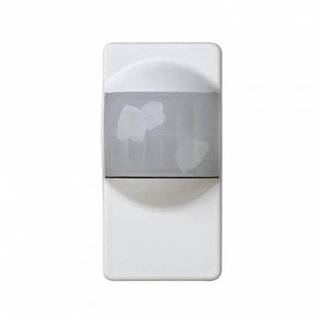 Interruptor-detector de presencia 230V~ de medio elemento blanco Simon 27 Play