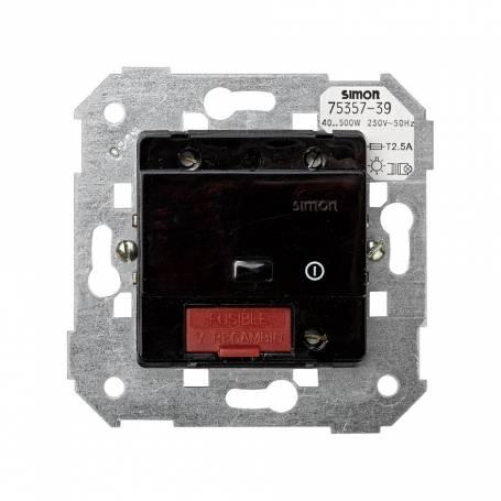 Interruptor-conmutador de luz por infrarrojos a triac de 40 a 500 W/VA