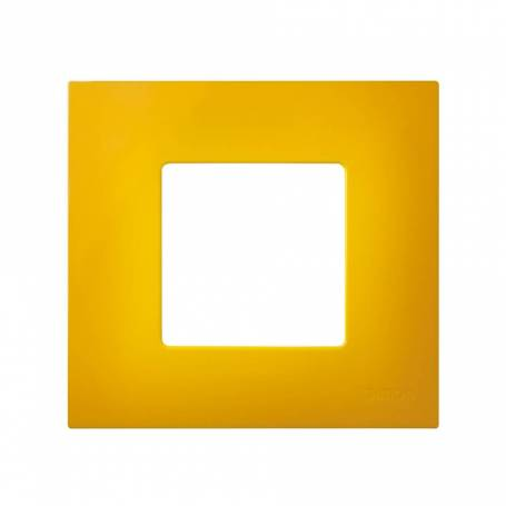 Funda intercambiable para marco 1 elemento amarillo Simon 27 Play