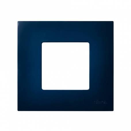 Funda intercambiable para marco 1 elemento azul Simon 27 Play