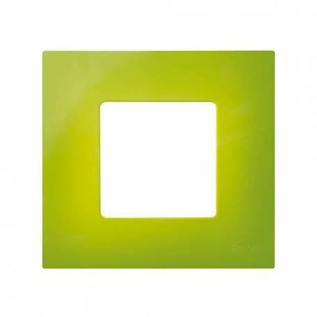 Funda intercambiable para marco 1 elemento pistacho Simon 27 Play