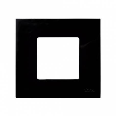 Funda intercambiable para marco 1 elemento negro Simon 27 Play
