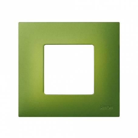 Funda intercambiable para marco 1 elemento verde artic Simon 27 Play