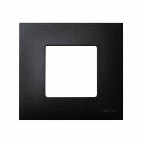 Funda intercambiable para marco 1 elemento negro artic Simon 27 Play