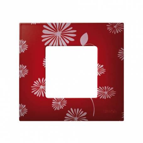 Funda intercambiable para marco 1 elemento red & white Simon 27 Play
