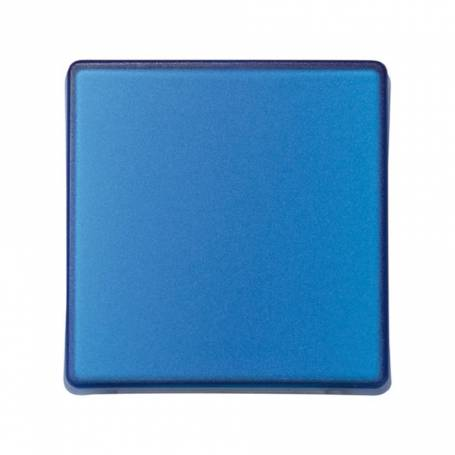 Tecla para mecanismos de mando azul translúcido Simon 27 Play