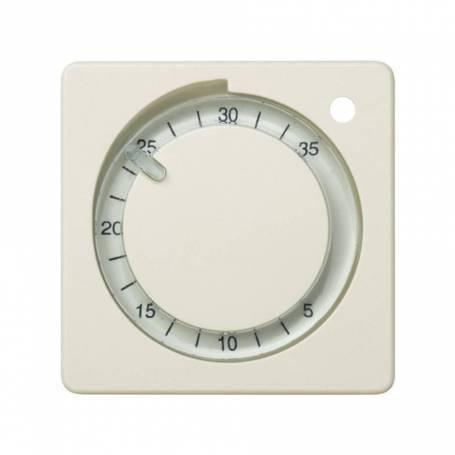 Placa para termostato de calefacción marfil Simon 27 Play