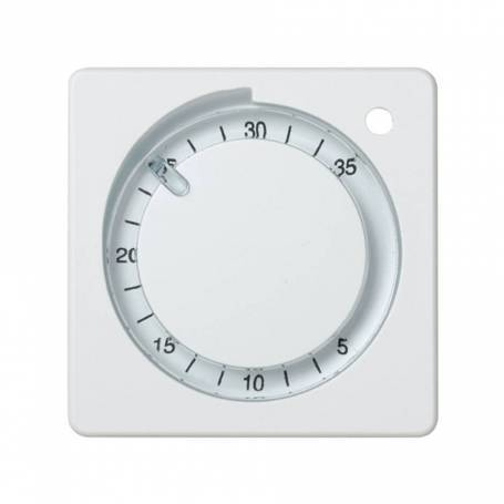 Placa para termostato de calefacción blanco Simon 27 Play