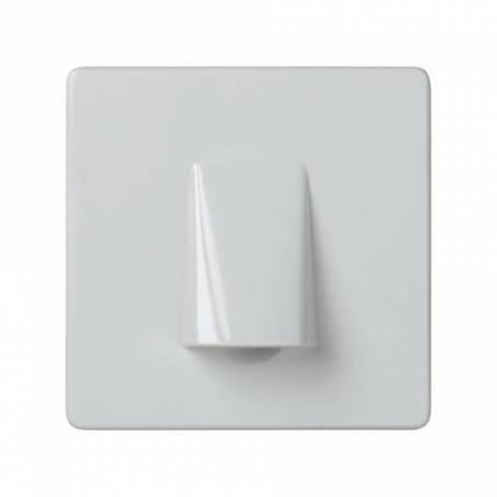 Mecanismo salida de cables con brida de sujección blanco Simon 27 Play