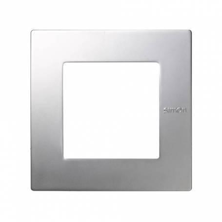 Marco para 1 elemento aluminio Simon 27 Scudo