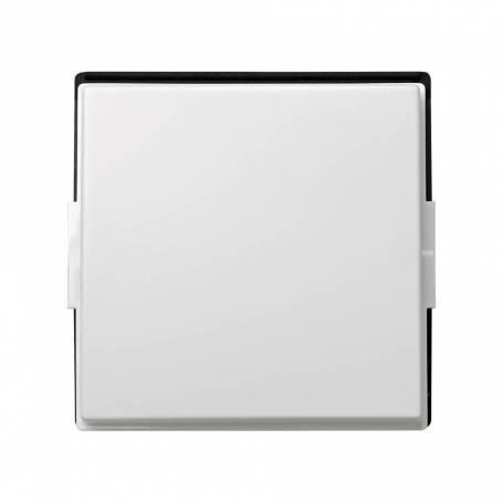 Tecla individual para mecanismos de mando blanco Simon 27 Scudo