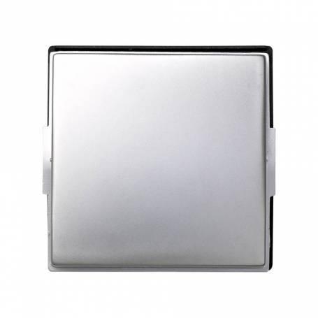 Tecla individual para mecanismos de mando aluminio Simon 27 Scudo