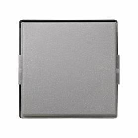 Tecla individual para mecanismos de mando gris esmeril Simon 27 Scudo