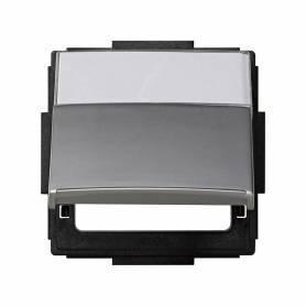 Tapa abatible para artículos modulares de las diferentes series aluminio Simon 27 Scudo