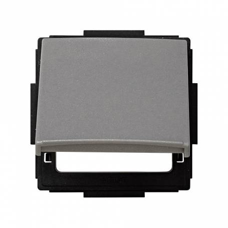 Tapa abatible para artículos modulares de las diferentes series gris esmeril Simon 27 Scudo