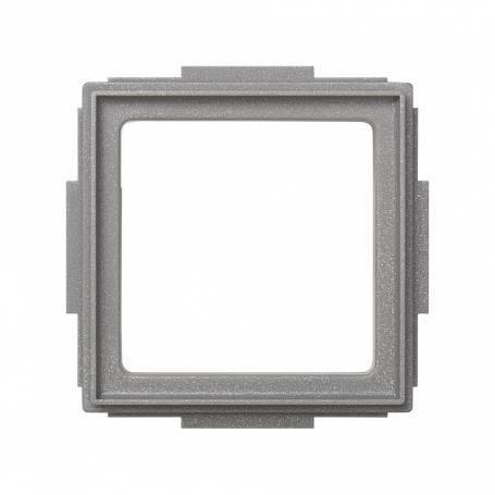 Placa adaptadora gris esmeril Simon 27 Scudo