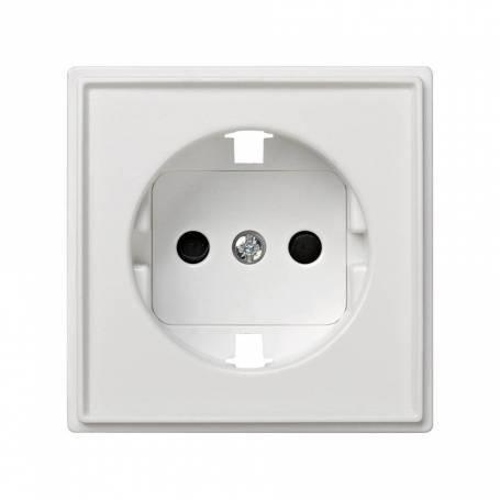 Tapa con dispositivo de seguridad para la base de enchufe schuko blanco Simon 27 Scudo