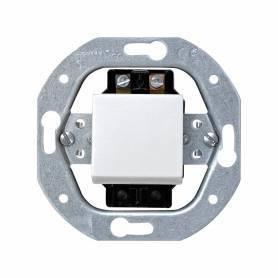 Interruptor unipolar 10 AX 250V~ con sistema de embornamiento a tornillo blanco Simon 32