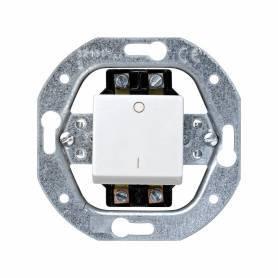 Interruptor bipolar 16 AX 250V~ con sistema de embornamiento a tornillo blanco Simon 32