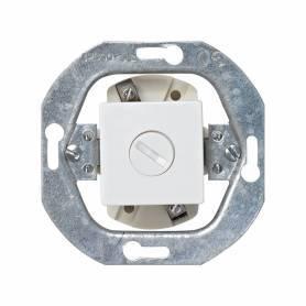 Base portafusible para fusibles cilíndricos y de tamaño 5x20 mm blanco Simon 32