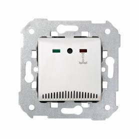 Detector de inundación de empotrar con led indicador de estado de servicio blanco