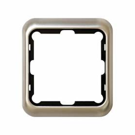 Marco para 1 elemento aluminio Simon 75
