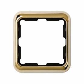 Marco para 1 elemento oro Simon 75