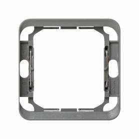 Pieza intermedia para 1 elemento gris Simon 75