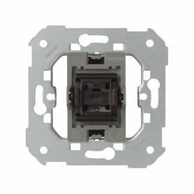 Interruptor unipolar 10 AX 250V~ con sistema de embornamiento 1click®