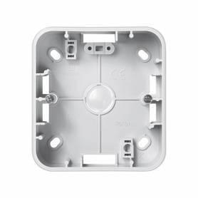 Caja de superficie alta para 1 elemento blanco Simon 75