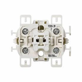 Interruptor bipolar 10 AX 250V~ con sistema de embornamiento a tornillo Simon 73