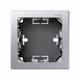 Marco con base para 1 elemento aluminio Simon 73 Loft