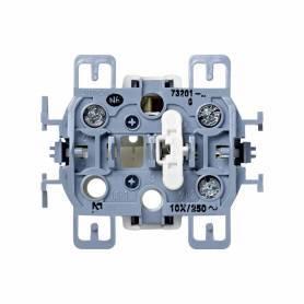 Conmutador 10 AX 250V~ con sistema de embornamiento a tornillo Simon 73