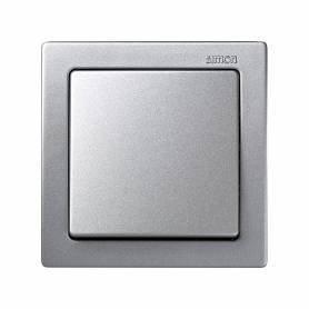 Conmutador monobloc 10 AX 250V~ con sistema de embornamiento a tornillo aluminio Simon 73 Loft