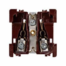 Base de enchufe schuko 16 A 250V~ con dispositivo de seguridad y embornamiento a tornillo