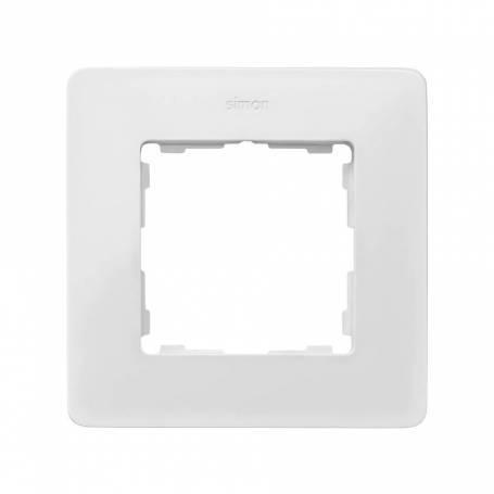 Marco para 1 elemento blanco cálido Simon 82 Detail Original