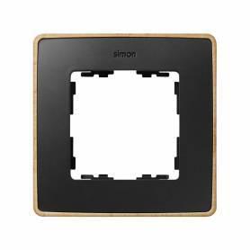 Marco para 1 elemento grafito base madera haya Simon 82 Detail Select