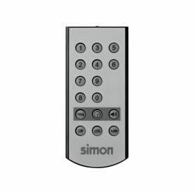 Mando a distancia sobre 10 canales por infrarrojos y alcance de 6 a 9 metros