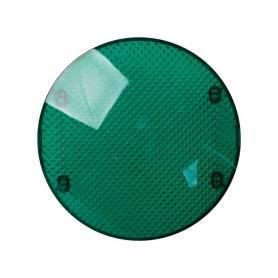 Tapa difusora verde para señalizador luminoso Simon 88