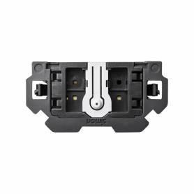 Interruptor-conmutador pulsante 16 AX 250V~ con sistema de embornamiento 1click® Simon 100