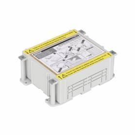 Cubeta de plástico para caja de suelo regulable de 2 elementos para instalación en suelo de pavimento Simon 500 Cima