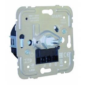 Regulador/Conmutador de Luz Rotativo Electrónico para Lámparas de Bajo Consumo de 150W R, C
