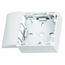 Adaptador Lateral de la Serie 47 para Canal 20x12,5 Blanco