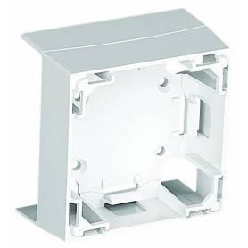 Adaptador Frontal de la Serie 47 para Canal 60x16 Blanco