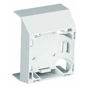 Adaptador Frontal de la Serie 47 para Canal 75x20 Blanco