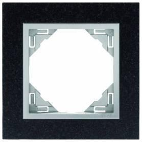 Marco Simple Granito/Aluminio