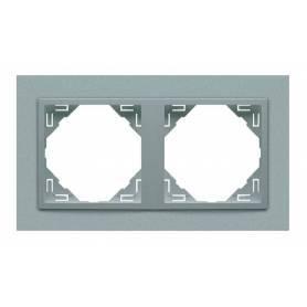 Marco Doble Aluminio/Aluminio
